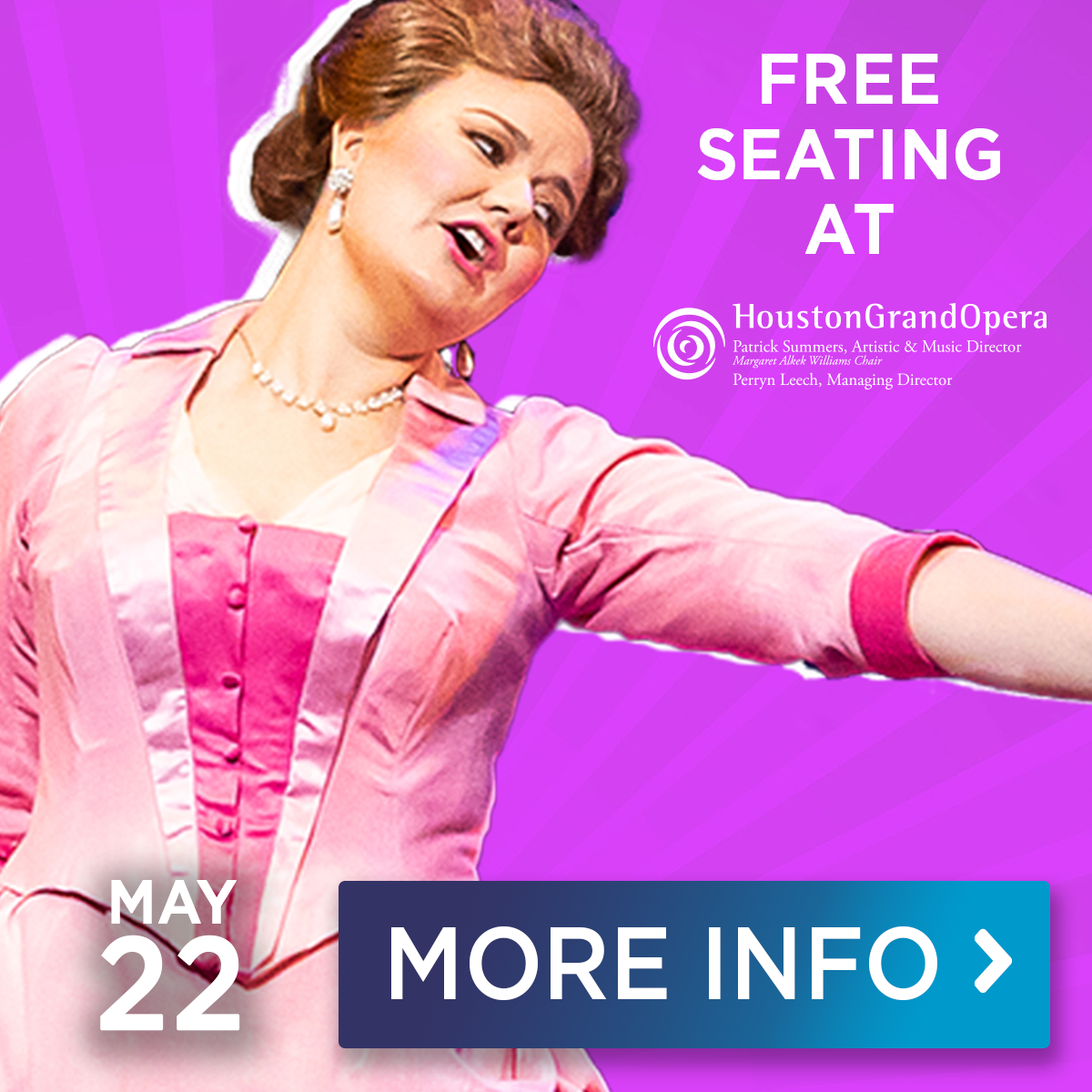 Houston Grand Opera at The Pavilion May 22