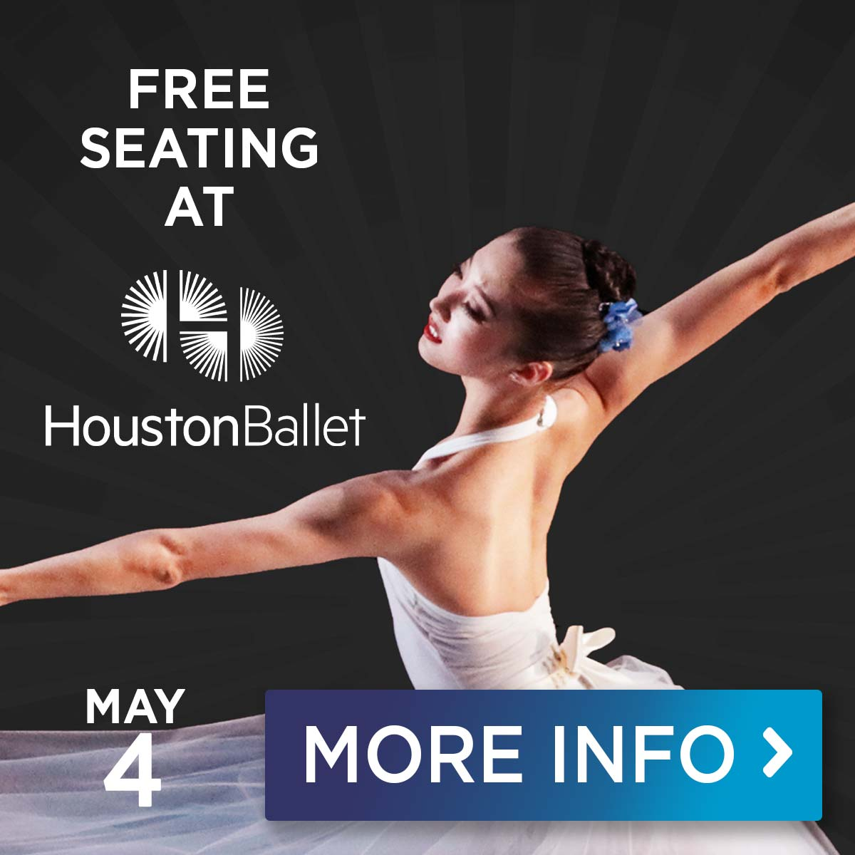 Houston Ballet at The Pavilion May 4