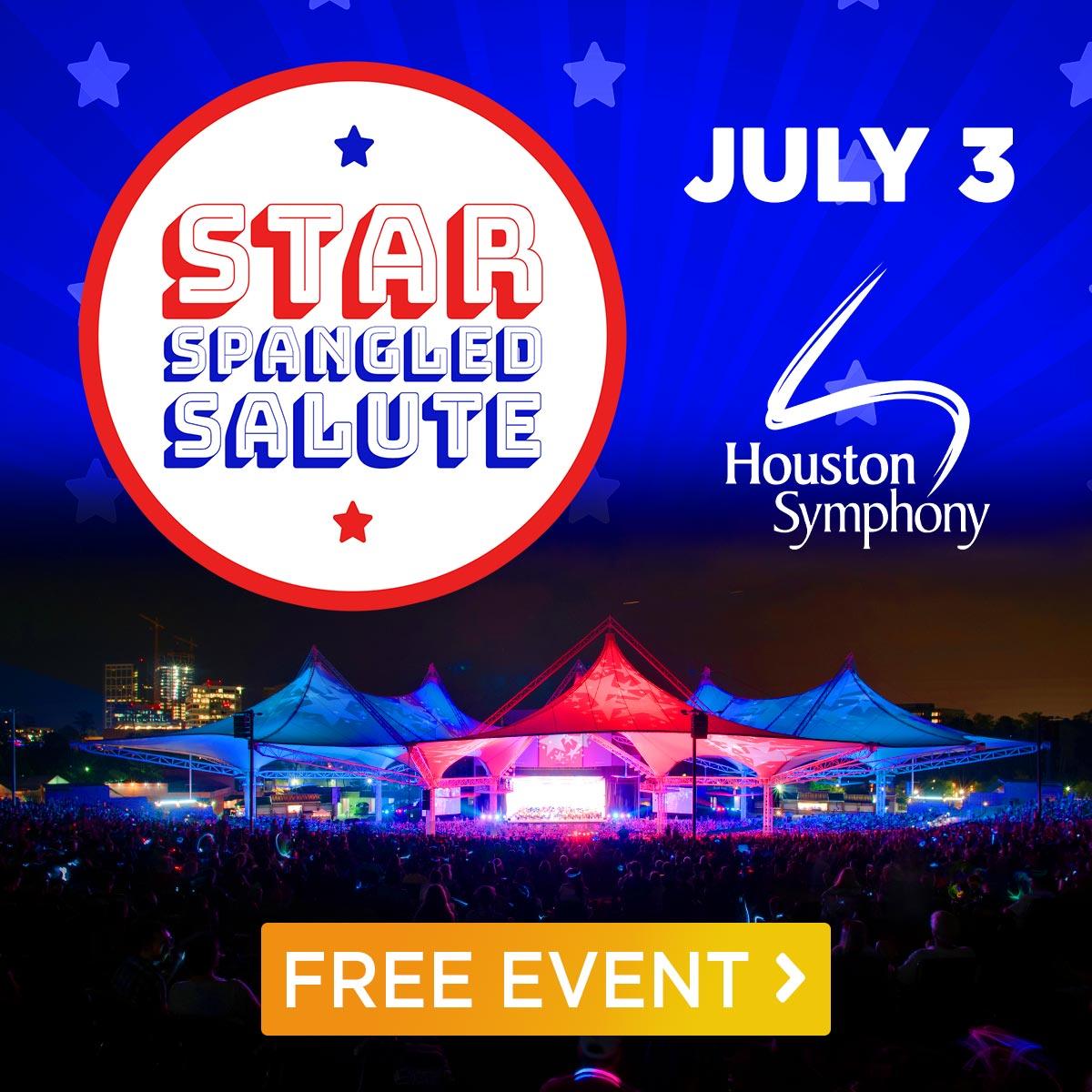 Houston Symphony: Star-Spangled Salute - July 3