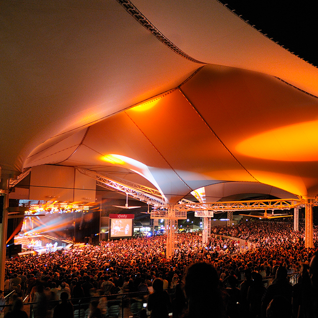 The Pavilion Ranked No. 1 Outdoor Amphitheater in the World
