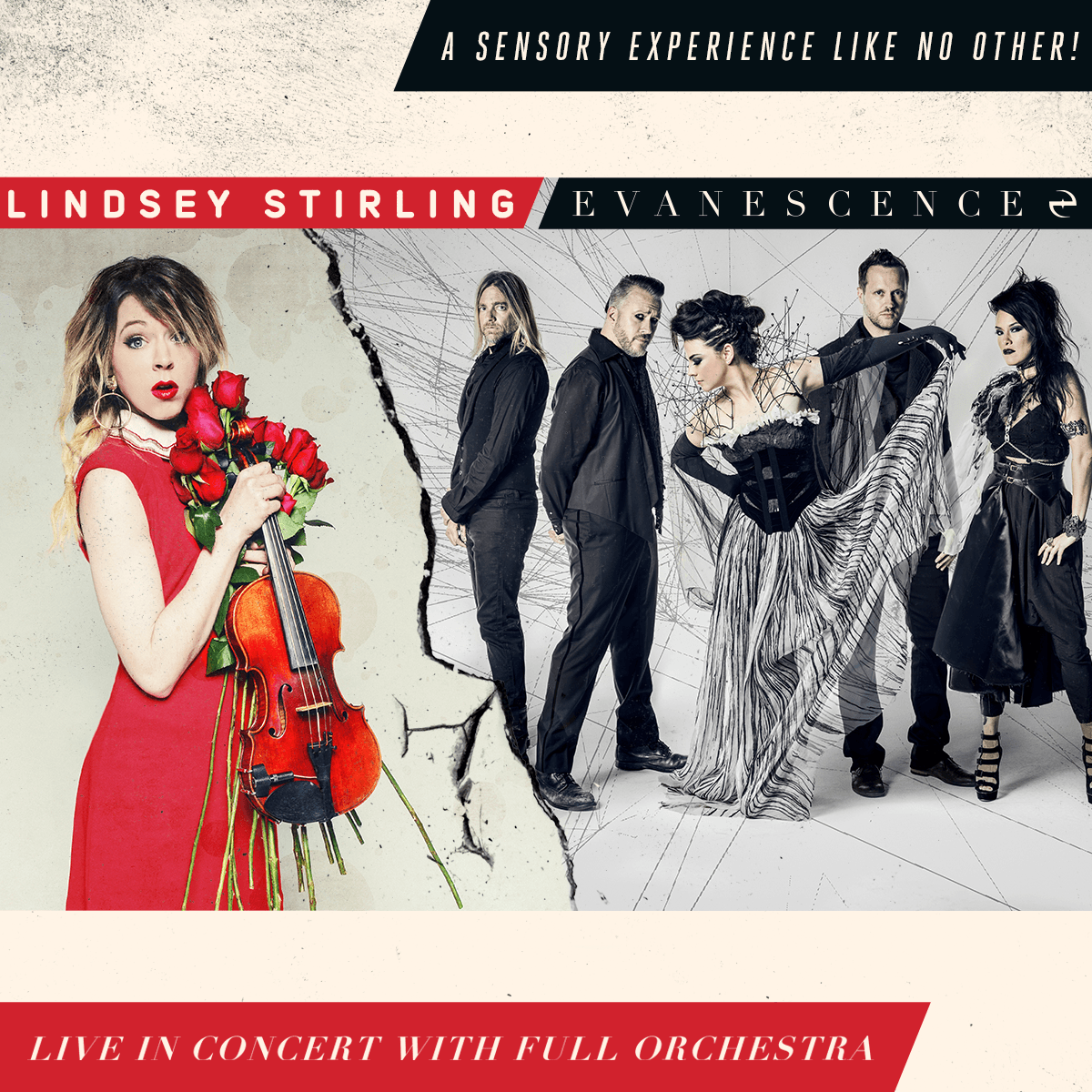lindsey stirling and evanescence