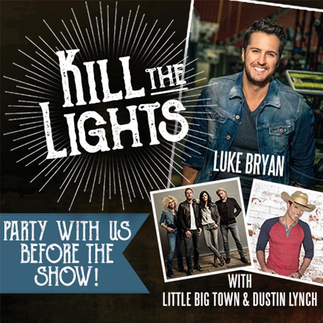 "Let's ""Kill the Lights"" at the Pre-Concert Dinner & Fundraiser October 20"