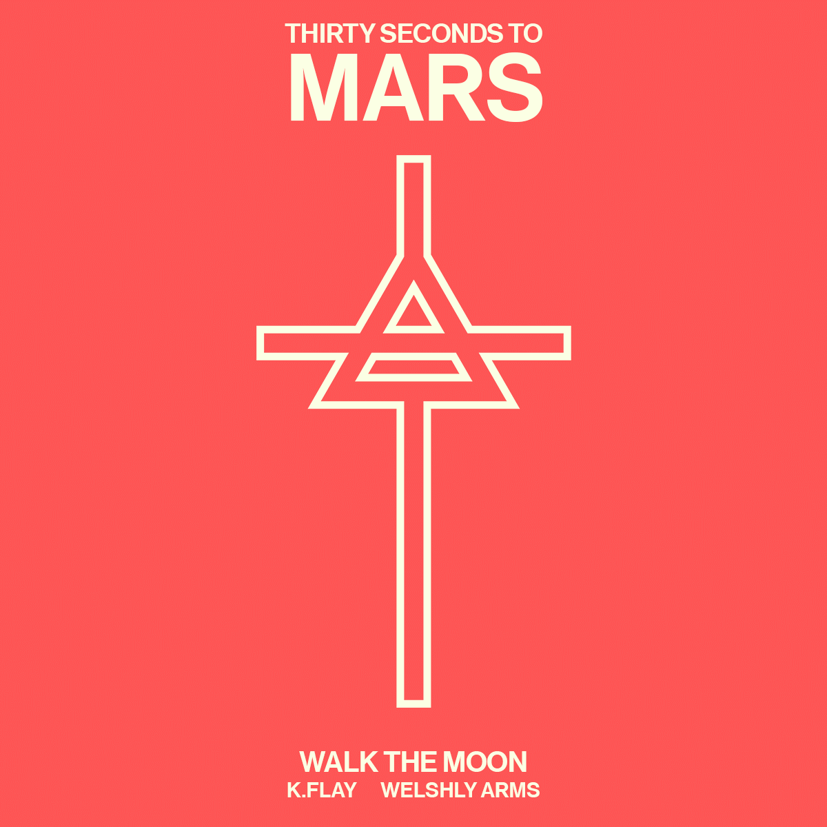Thirty Seconds To Mars With Walk The Moon Kflay And Welshly Arms