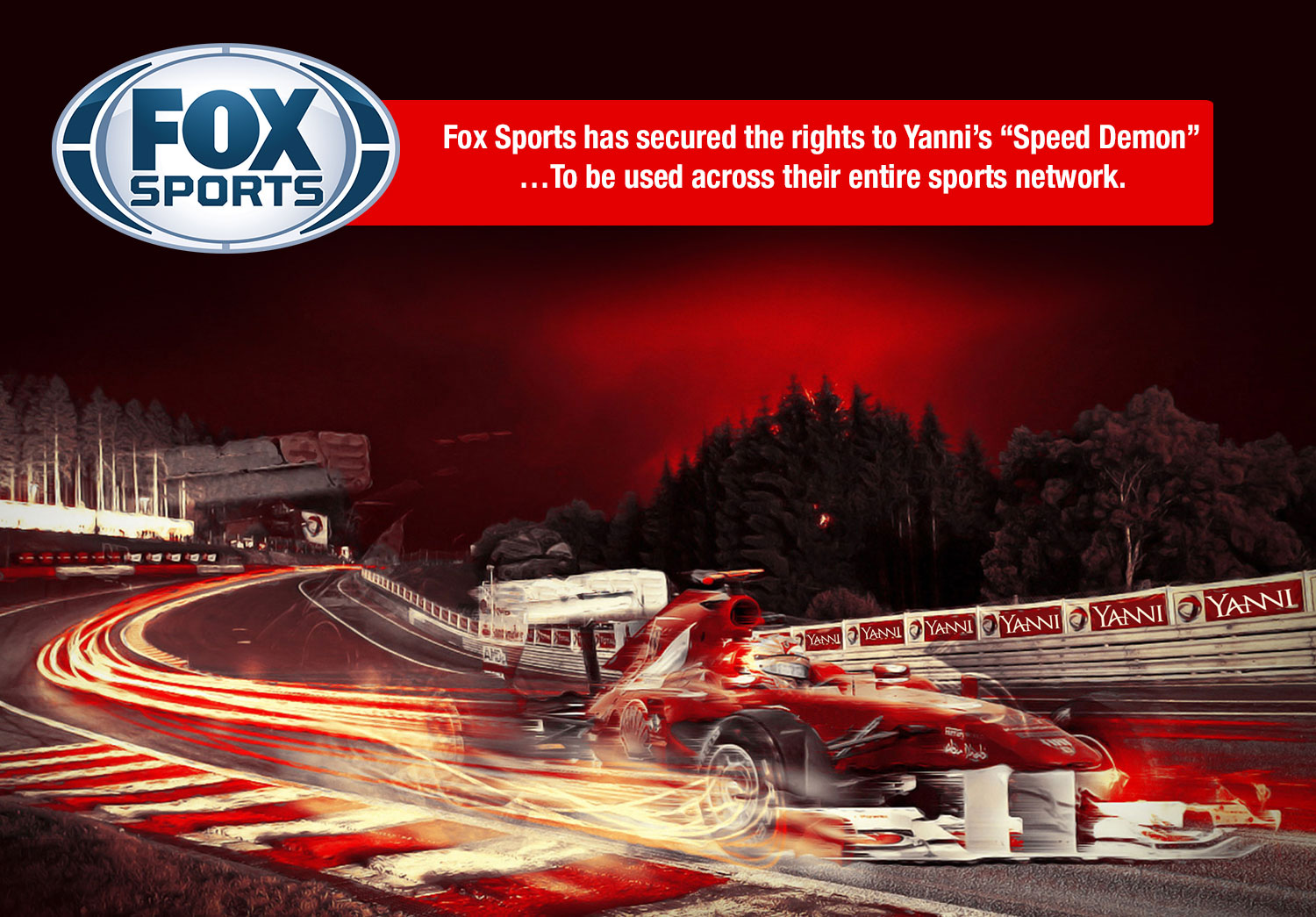 Special Announcement from Fox Sports