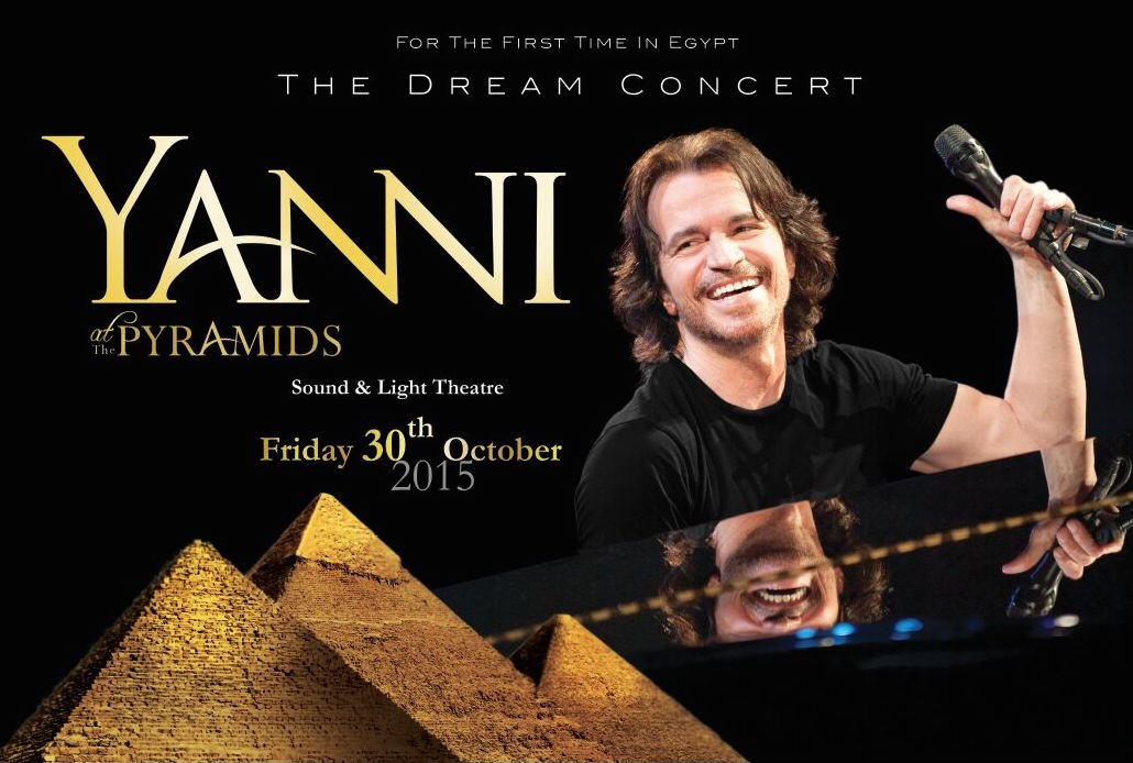 Yanni for the first time in Egypt !