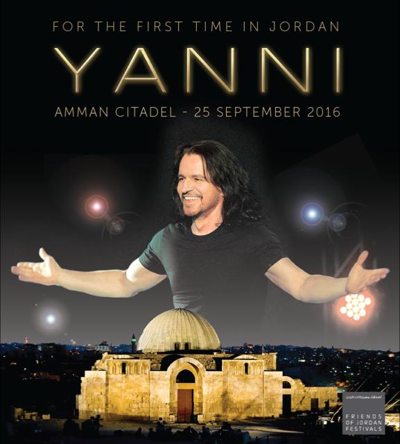 Yanni live in Jordan!