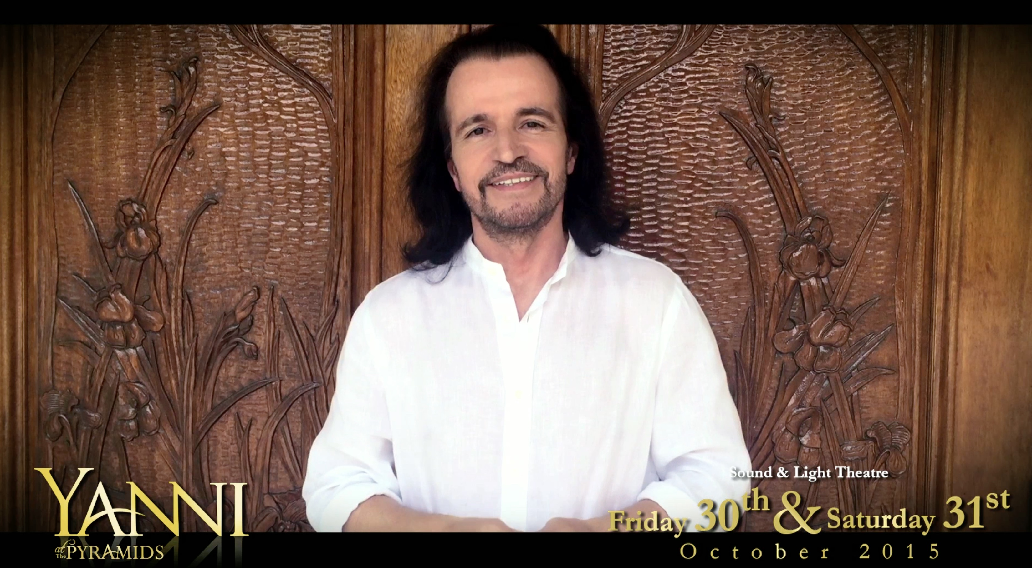 Yanni confirms the second concert in Egypt!