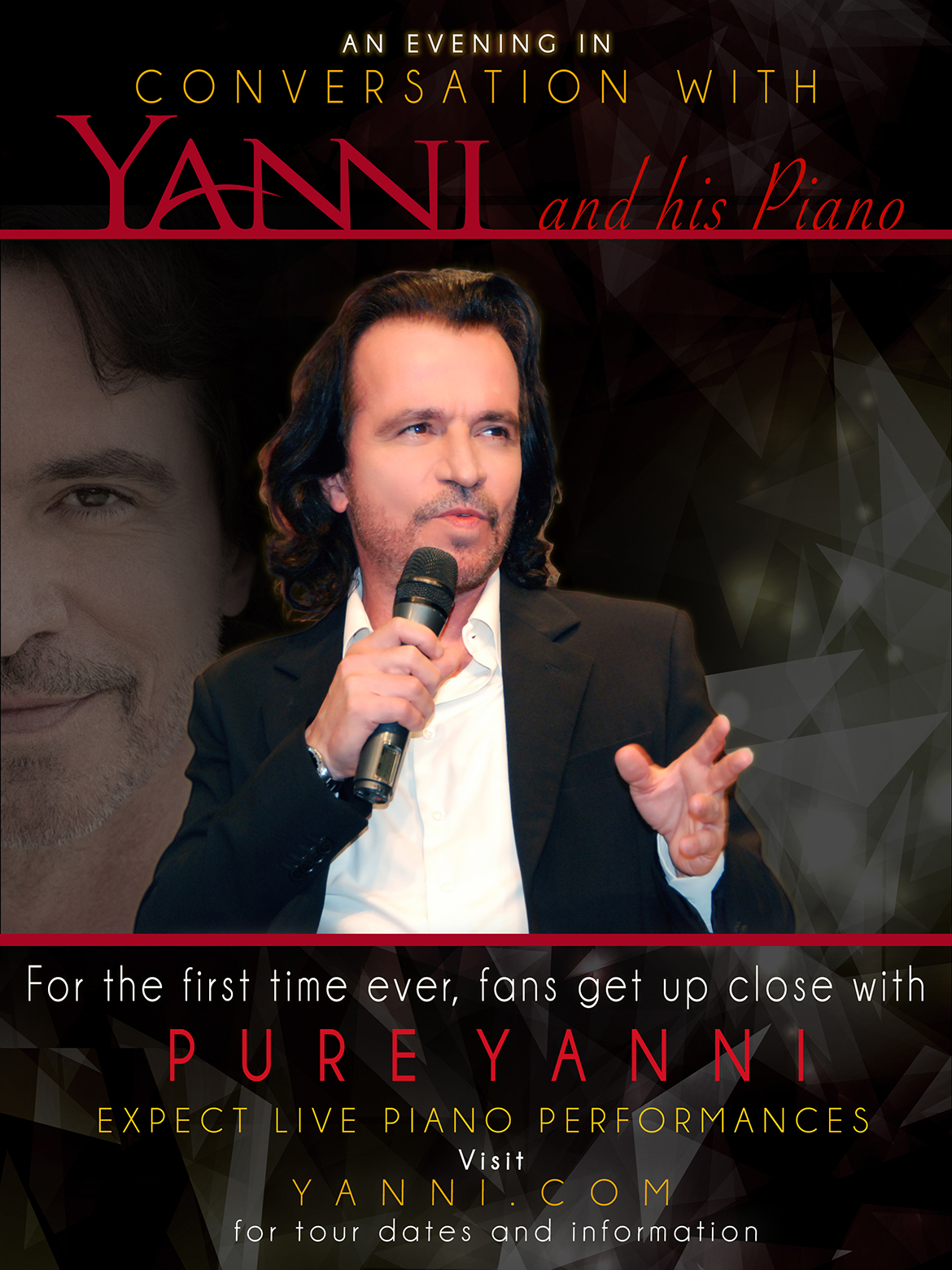 An Evening In Conversation With Yanni and his Piano