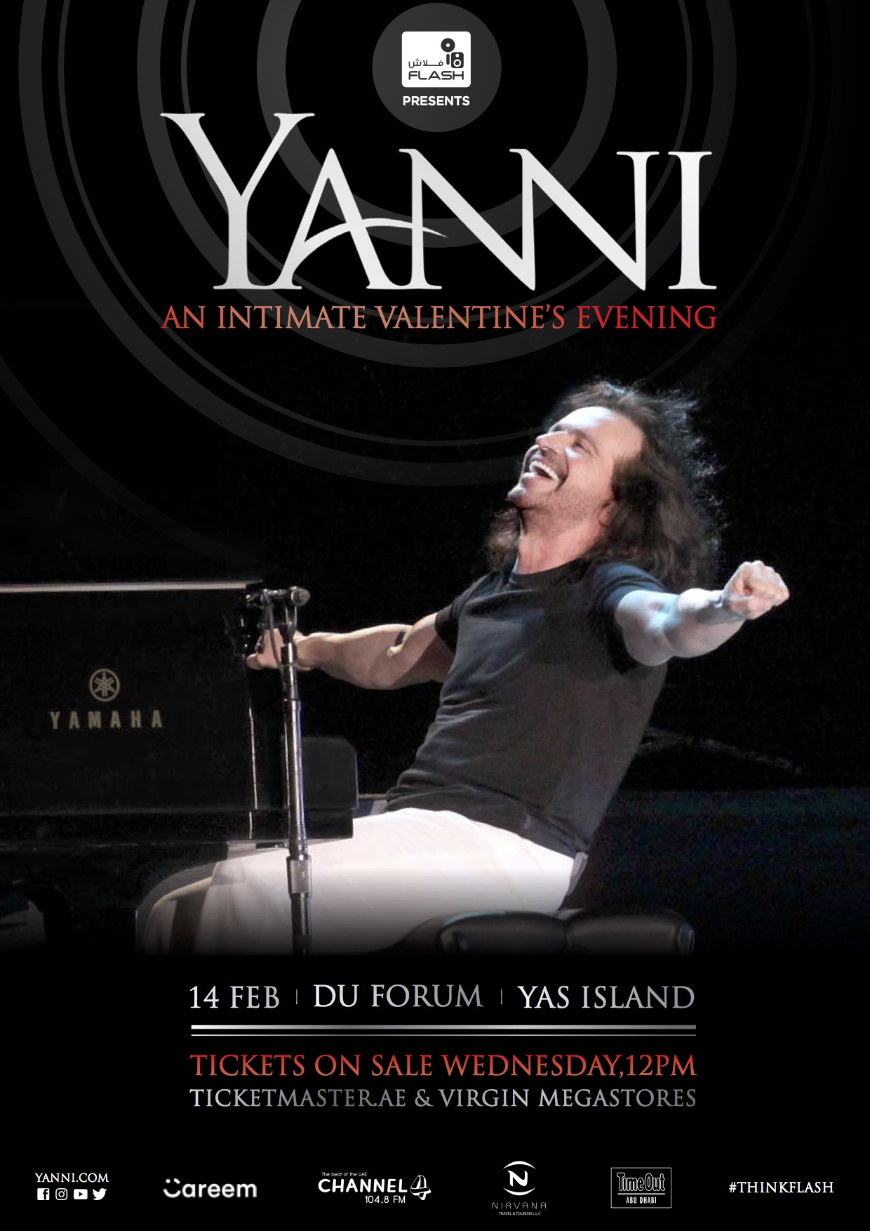 Yanni returns to UAE