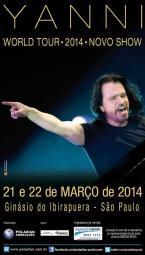 Yanni returns to Brazil!