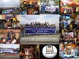 Happy 2nd Anniversary Yanni Iran.