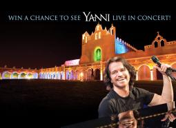 WIN tickets to see Yanni in Izamal, MX!
