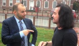 """James """"Murr"""" Murray accepts the ALS Ice Bucket Challenge and nominates Yanni!"""