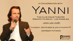 A Conversation With Yanni