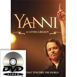 Yanni: A Living Legacy DVD