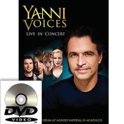 Yanni Voices - Live in Concert DVD