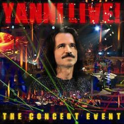 Yanni Live! The Concert Event CD