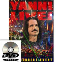 Yanni Live! The Concert Event DVD 2006