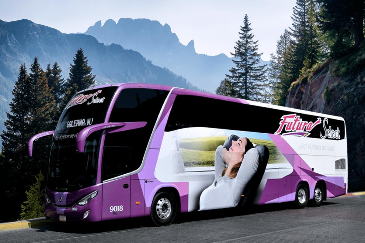 Películas de estreno - BUSOLINEA - Futura Doble Piso: viaja a otro nivel - Nuevos autobuses