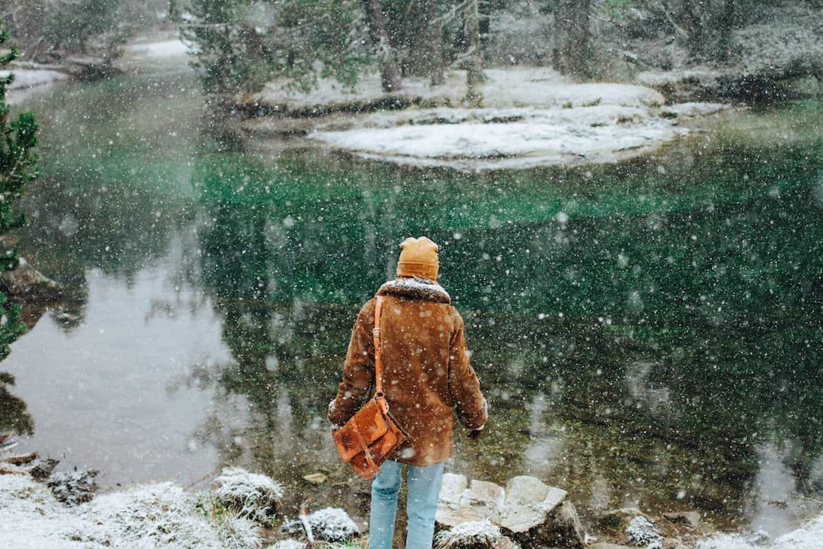 BUSOLINEA - Laguna Hanson, el bosque nevado que debes conocer