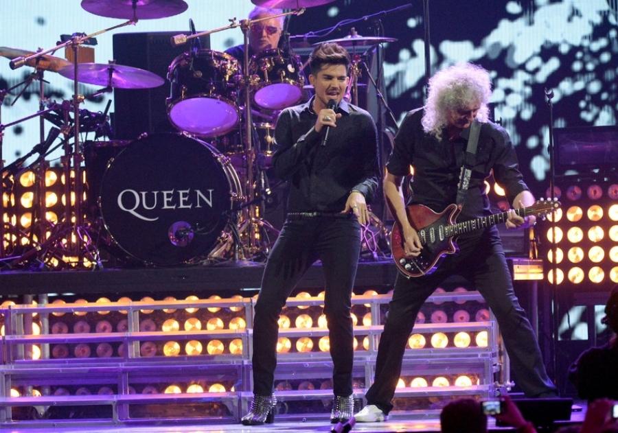 Queen  ja Adam Lambert Hartwall Arenalla 1