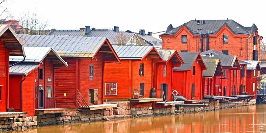 Porvoon vanha kaupunki & Malmgårdin joulumarkkinat 1