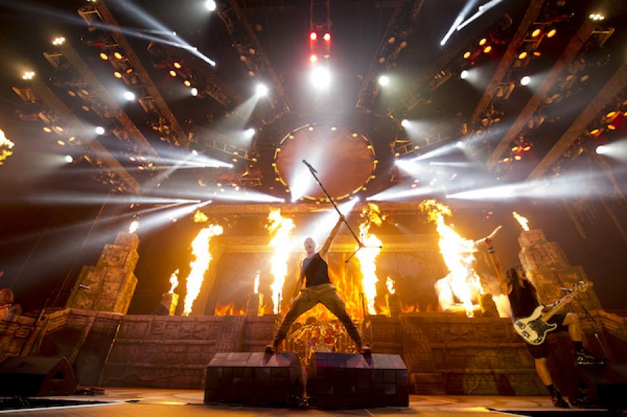Iron Maiden Hartwall Arenalla 28.5. 1