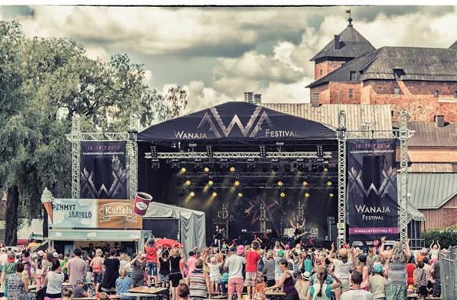 Wanaja Festival Hämeenlinnassa (2pv) 1