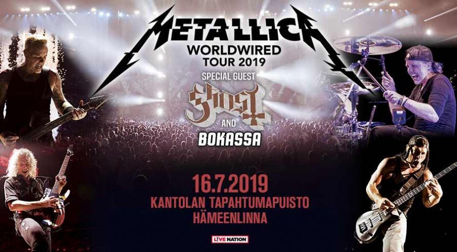 Metallica Kantolan tapahtumapuisto Hämeenlinna 1