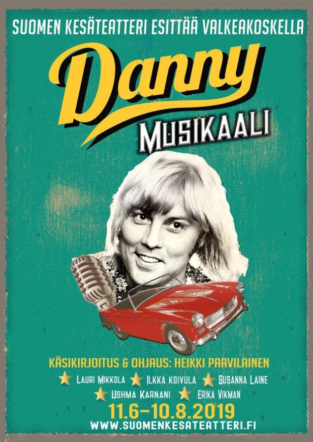 Danny - Musikaali Valkeakosken kesäteatterissa 2