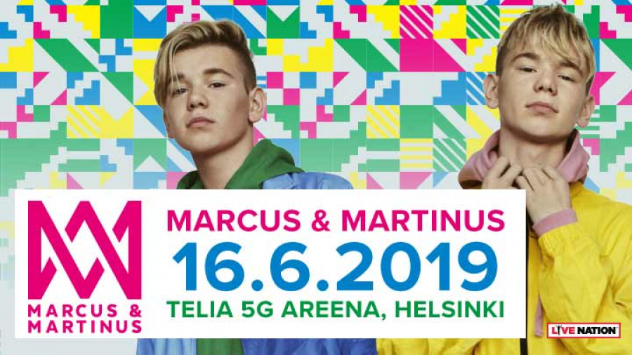 Marcus&Martinus Telia 5G Areenalla 1