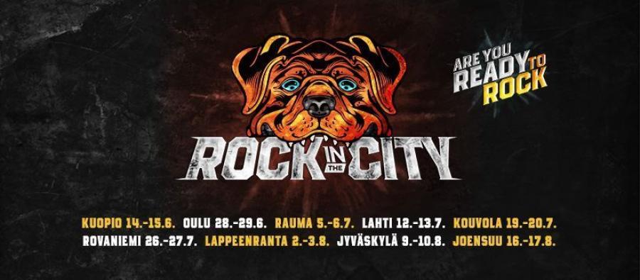 Rock In the City Kouvolan kirkkopuistossa 1
