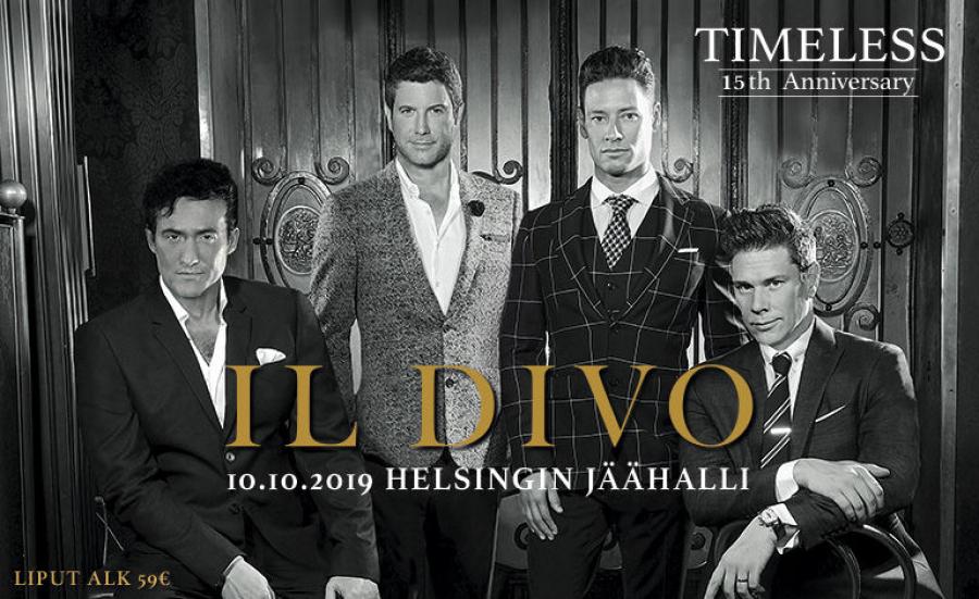 Il Divo 15 - vuotisjuhlakonsertti  Helsingin jäähallissa (kuljetus) 1