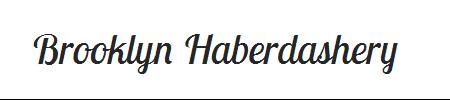 Brooklyn Haberdashery