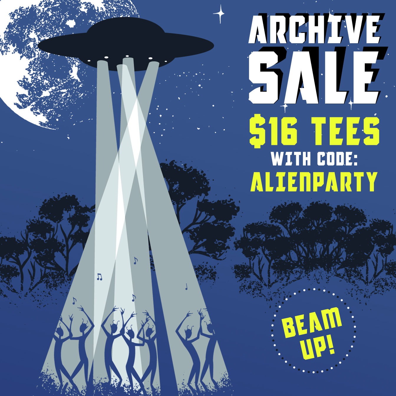 Beam Up Archive Tees For Only $16 Each Right Now!