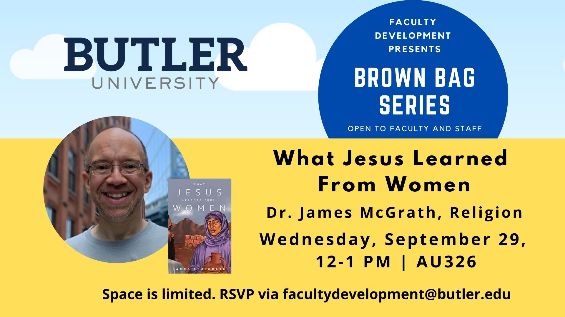 """Brown Bag Series: """"What Jesus Learned From Women"""""""