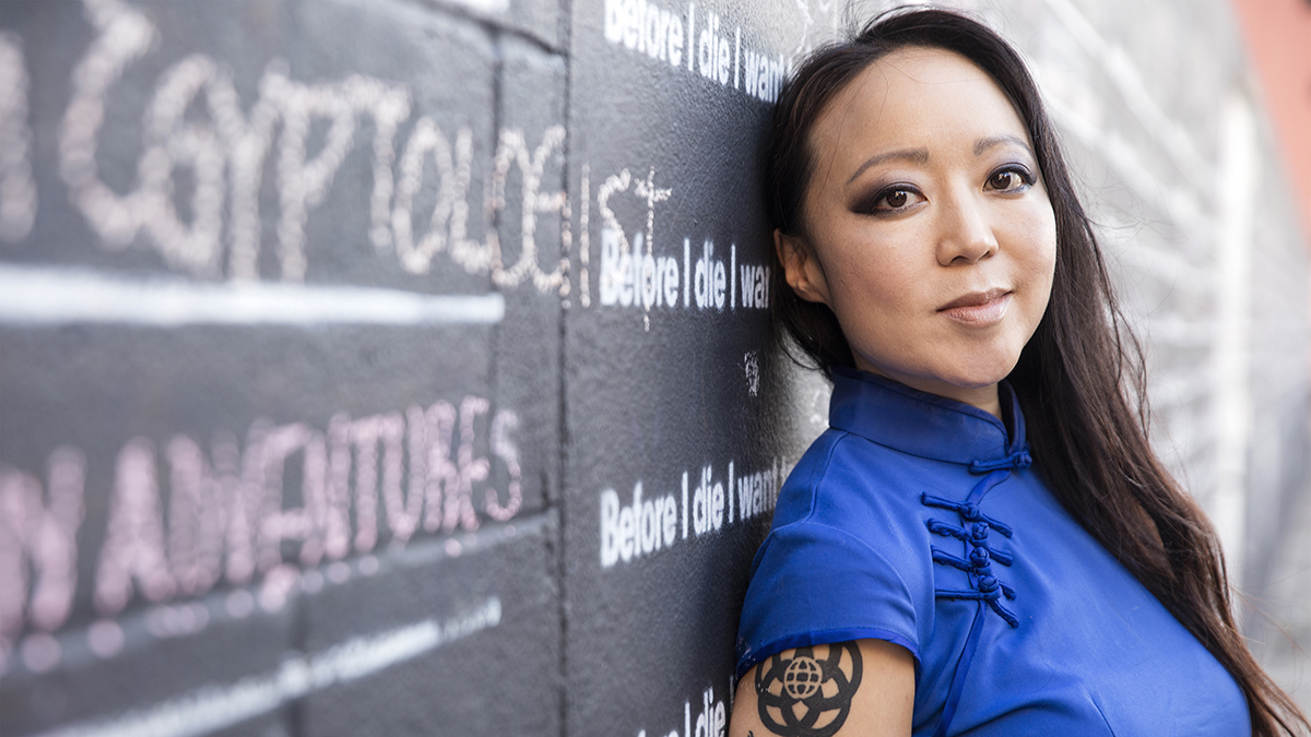 Candy Chang, Urban Space Artist: Before I Die...