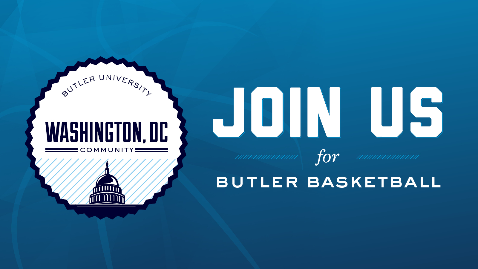 Butler vs. Georgetown Pregame Social - REGISTRATION CLOSED