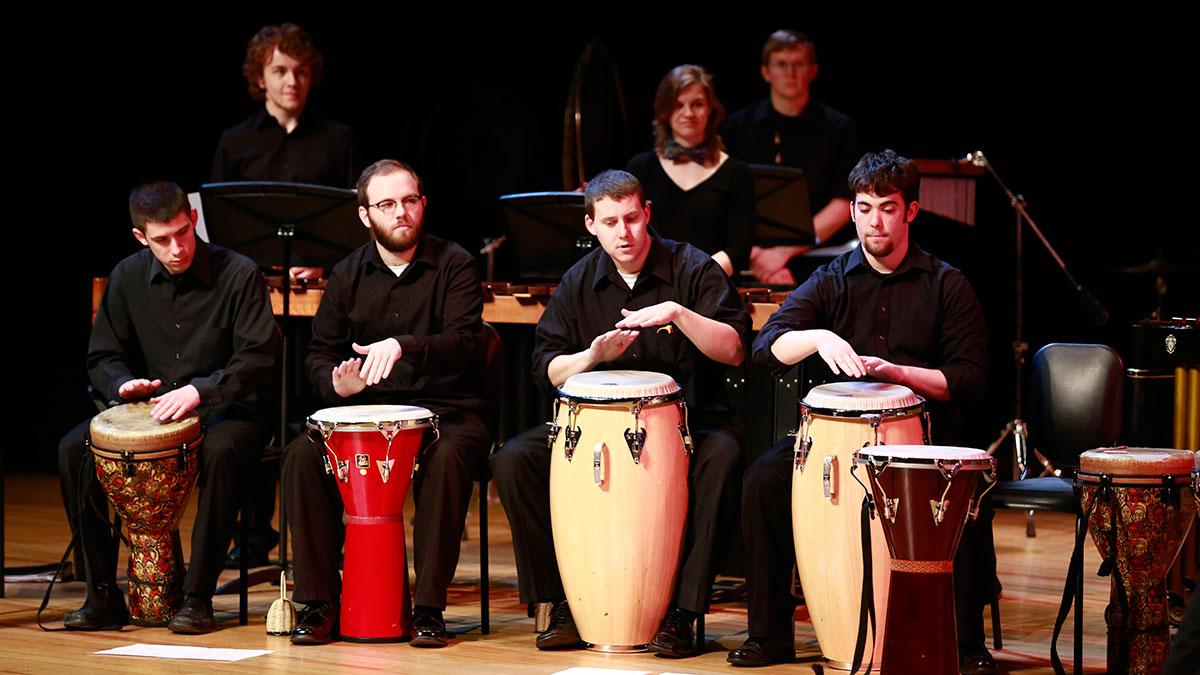 Neighborhood Concert Series: Percussion Ensemble
