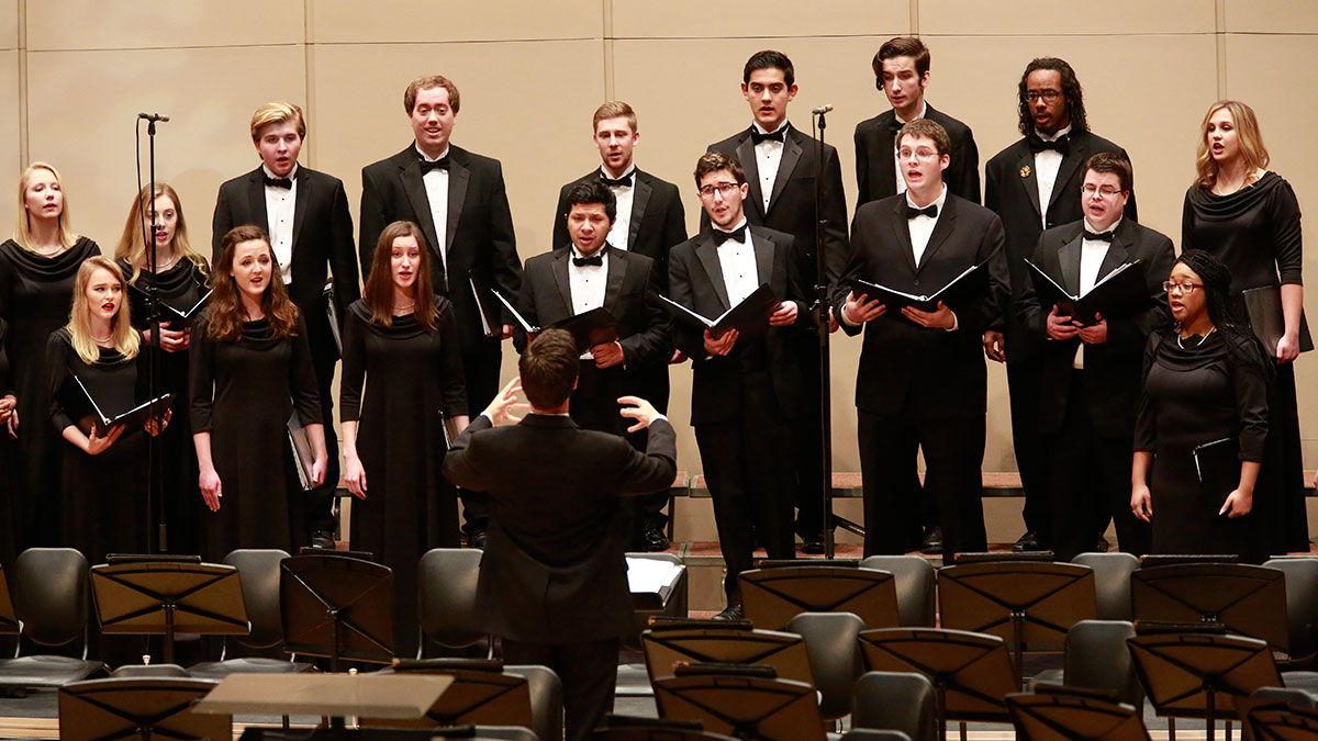 Music at Butler Series: Chorale, Spectra, and University Choir