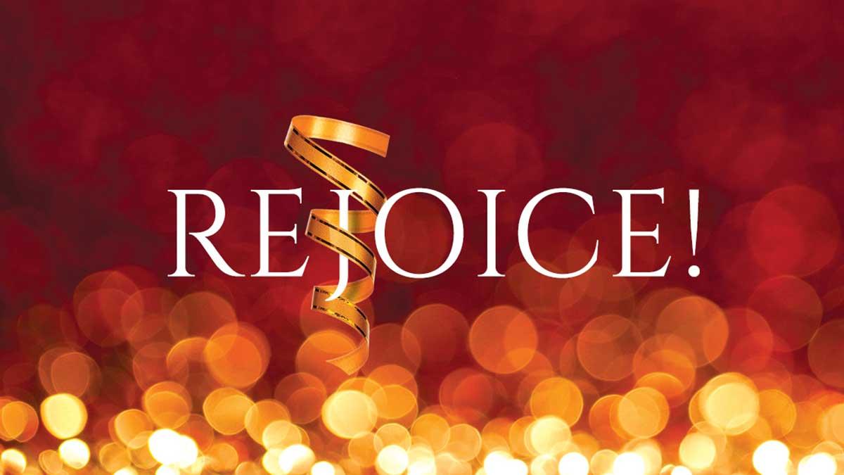 Music at Butler: Rejoice!