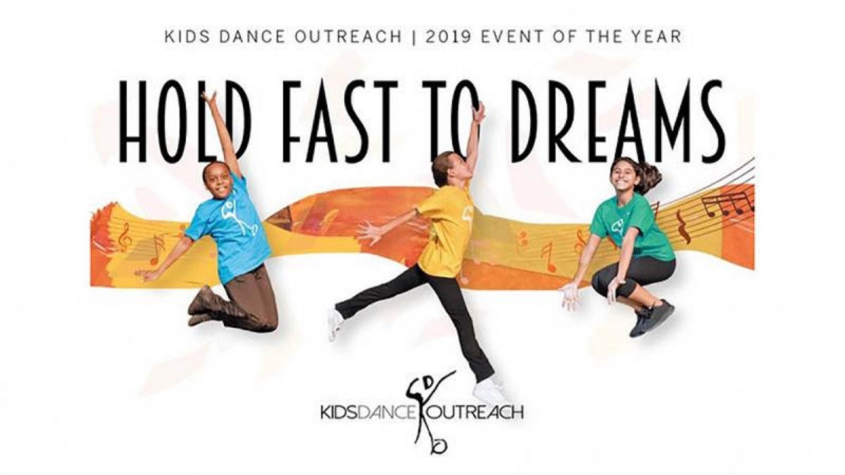 "Kids Dance Outreach Event of the Year ""Hold Fast to Dreams"""