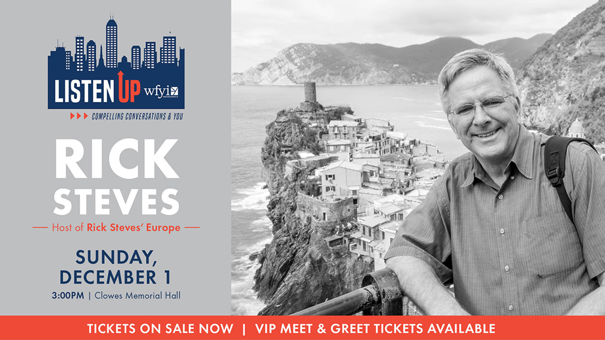 WFYI's Listen Up with Rick Steves
