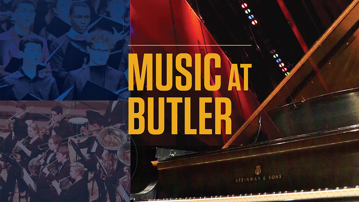 Music at Butler presents: Student Showcase Series