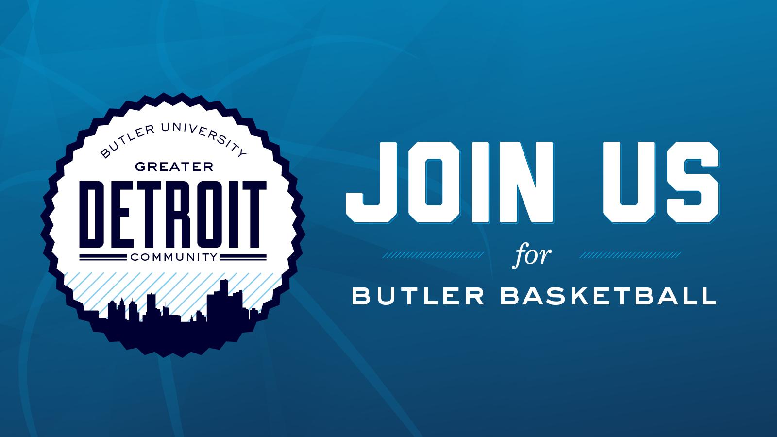 Detroit Community Fan Gathering: Butler at Creighton