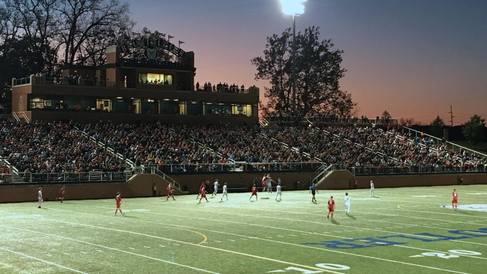 Butler Men's Soccer vs. University of Charleston