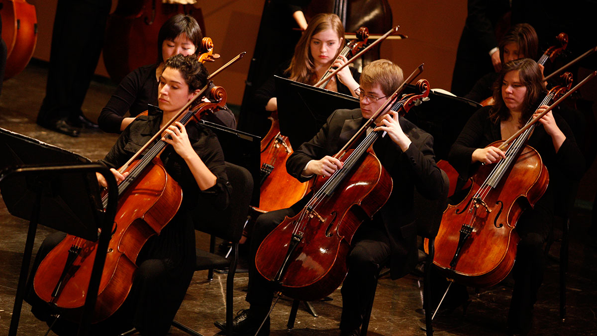Music at Butler Series: Zachary Depue, violin, and Austin Huntington, cello, with the Butler Symphony Orchestra