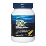 048107089924 Upc Gnc 3 X Fish Oil Plus Resveratrol 60 Cap