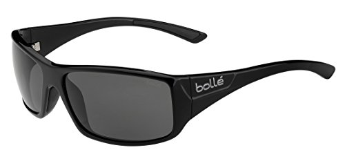 f4f781fbe0a821 Bollé Kingsnake Lunettes de soleil Homme Shiny Black Modulator Polarized  Grey Oleo AF Taille M. UPC 054917308223