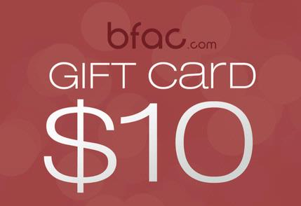$10.00 BFAC.COM GIFT CARD FOR LISTINGS (special deal)